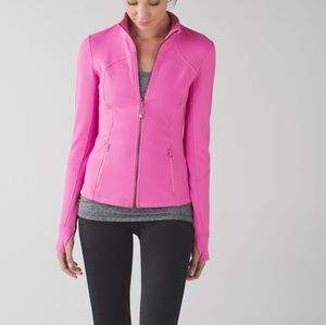 Lululemon For Me jacket in Pow Pink Light